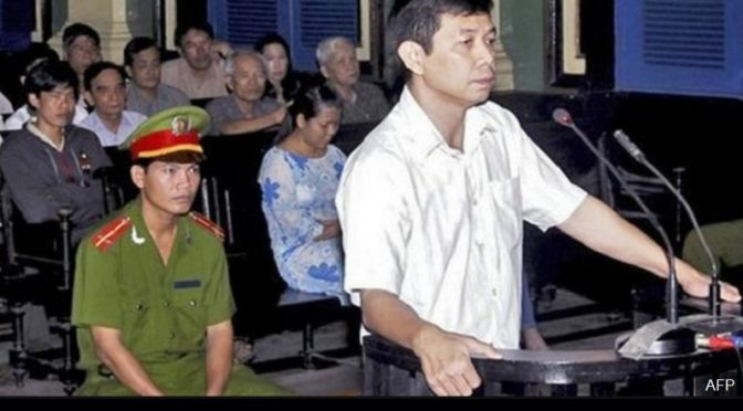 Save conscience prisoner Tran Huynh Duy Thuc from going on a 'Hunger Strike Until Death'