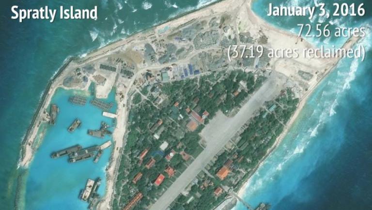 Chine ou Vietnam, qui «poldérise» le plus les îles Spratleys? [RFI]
