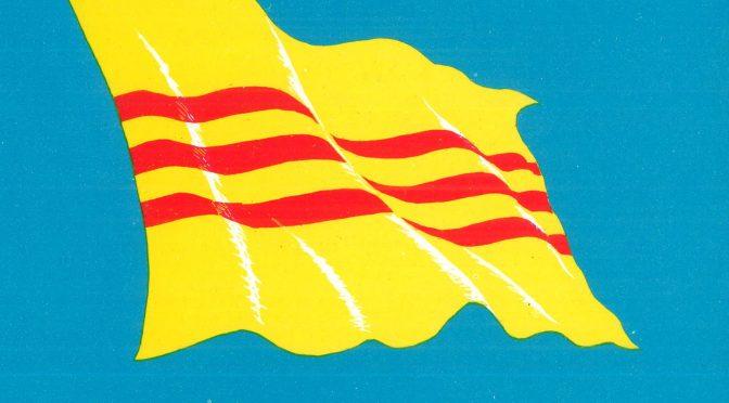 Viêt-Nam, le drapeau national (1948-1975)