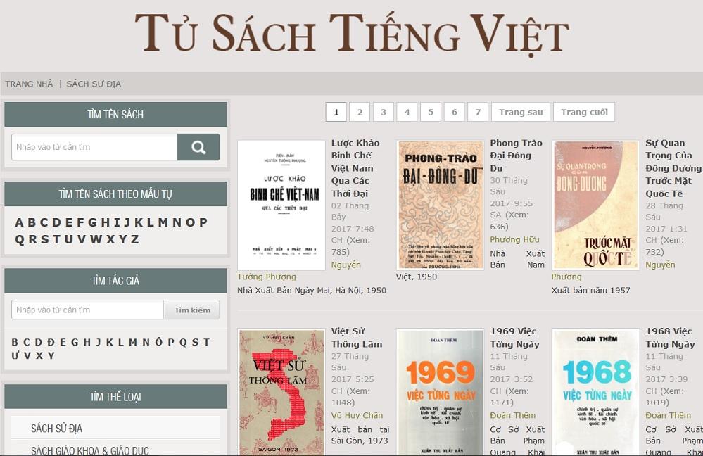 Tủ sách Tiếng Việt