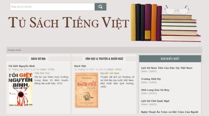 Tủ sách Tiếng Việt [ressources en ligne]
