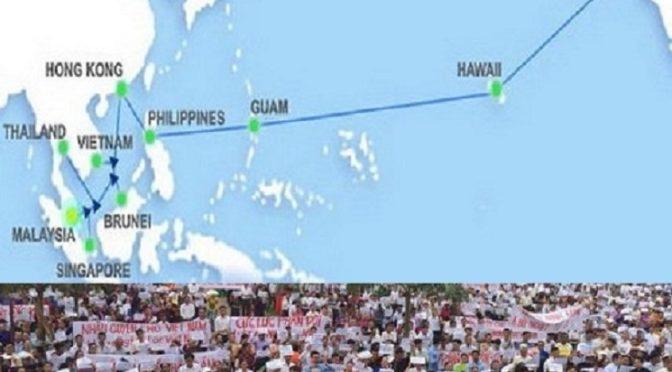 Viêt-Nam, une journée de manifestation sans échos