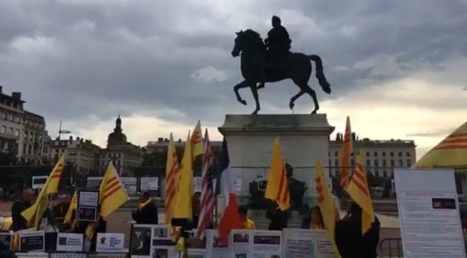 les irréductibles «amis du Viêt-Nam Libre» – Lyon, 20 octobre 2019