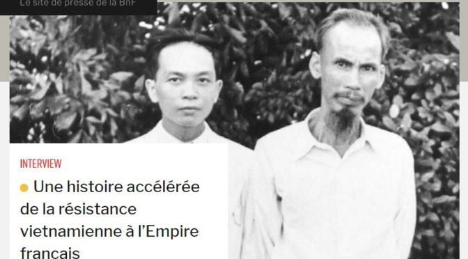 François Guillemot : Une histoire accélérée de la résistance vietnamienne à l'Empire français [entretien]