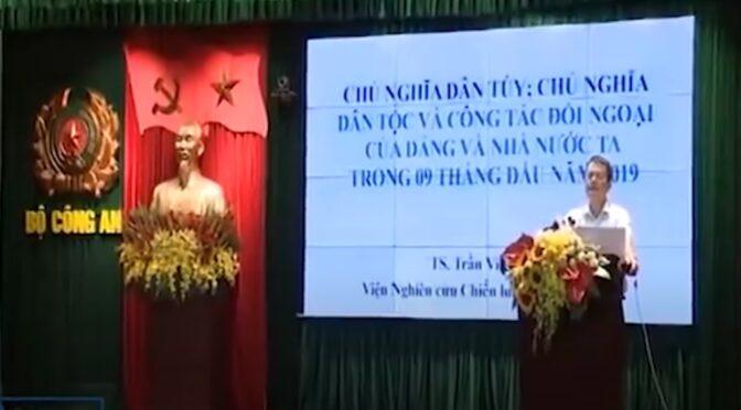 Populisme et nationalisme vus du Viêt-Nam – Conférences 2019