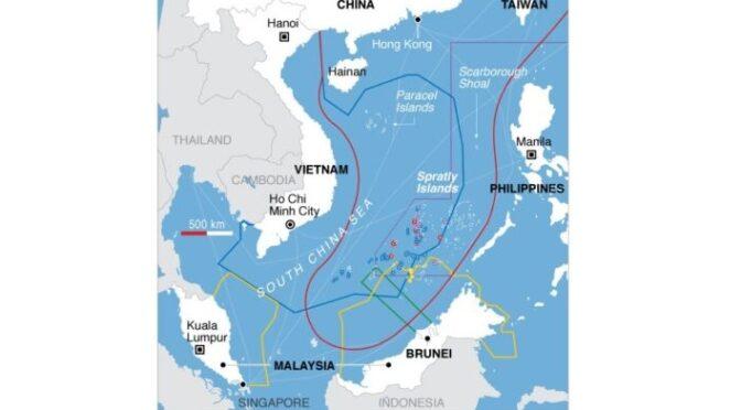 Laurent Gédéon : Les rivalités en mer de Chine méridionale. Enjeux géopolitiques et géostratégiques entre la Chine, le Vietnam et les États-Unis [HDR].