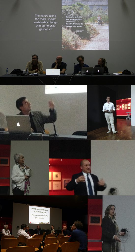 From left to right and top to bottom: 1. José Aguiar, Pedro Pacheco, Gregoire Chelkoff, Magali Paris 2. Duarte d'Araujo Mata 3. Joao Gomes Da Silva 4. Manuela Raposa Magalhaes 5. Miguel Pedro Mourato 6. Teresa Leitao