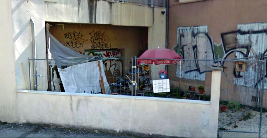 Photographie illustrant les lieux de débrouille dans la ville de Grenoble - Estelle Carlier - 2016