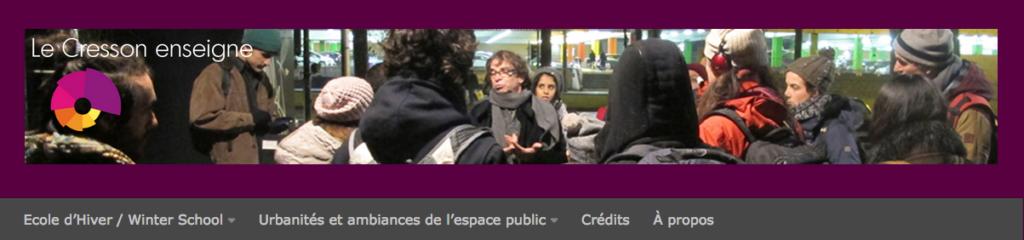 Beandeau du blog Le Cresson Enseigne