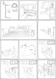 Bandes dessinées de Steven Saulnier-Sinan, Commuting 1