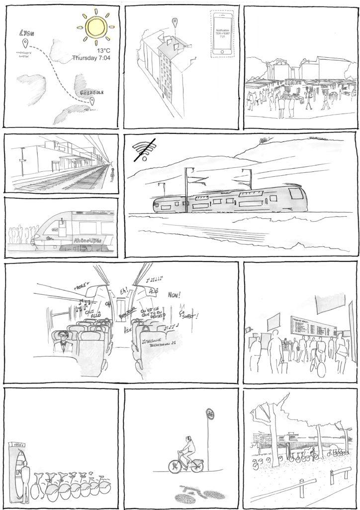 Commuting 3, Bande dessinée de Steven Saulnier-Sinan, 2017