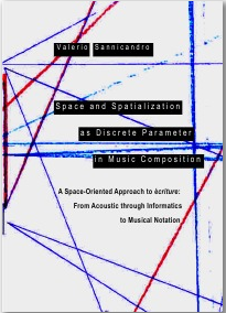 Couverture du livre Space and Spatialization as Discrete Parameter in Music Composition