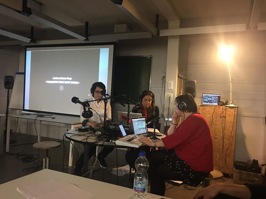 Ecole d'hiver 2019, Radio Papese, photo prise par Noha Said