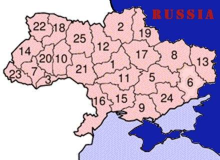 UKR-régionsMOD