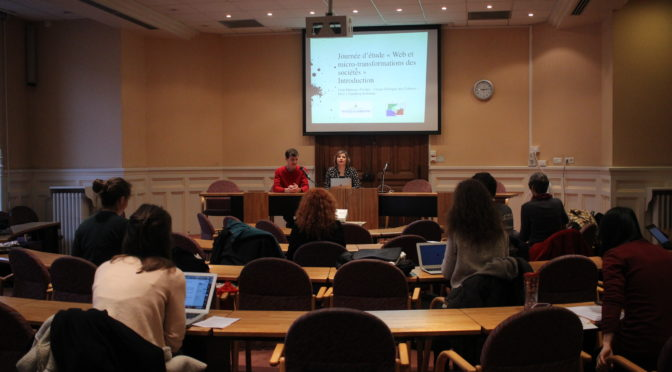 Report of the Study day « Web and micro-transformations »