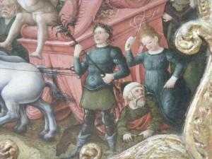 Aristote chevauché par une courtisane, LIberal da Verona, trionfo dell'amore, della castità