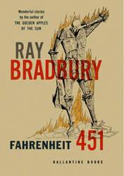"""Couverture du livre """"Farenheit 451"""" de R. Bradbury (Wikicommons)"""