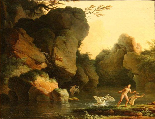 Henry d'Arles, Léda et le Cygne (Wikicommons)