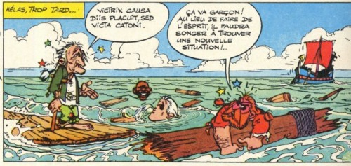 Image d'Astérix, Uderzo et Goscinny